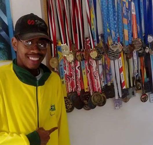 Cleiton - Varias medalhas